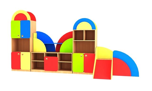 Барт - стеллажи и стенки для игрушек.